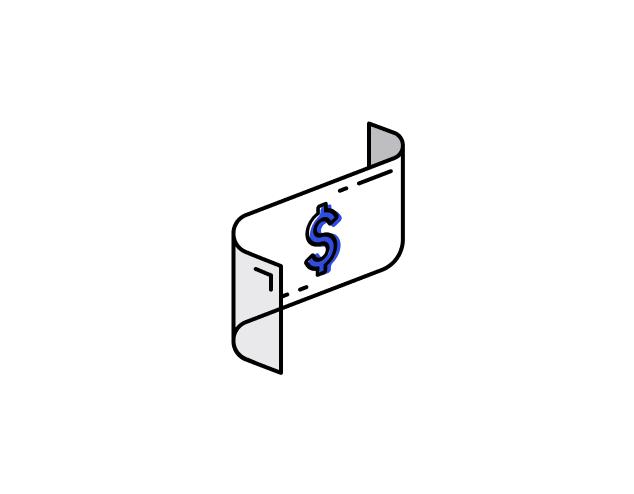 dollar bill illustration small zira